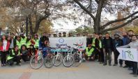 Van'da diyabete dikkat çekmek amacıyla bisiklet turu düzenlendi