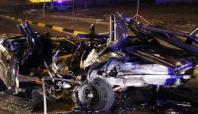 Gaziantep'te feci kaza: 1 kişi yanarak can verdi