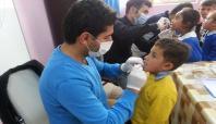 Şırnak'ta okullarda ağız diş taraması yapıldı