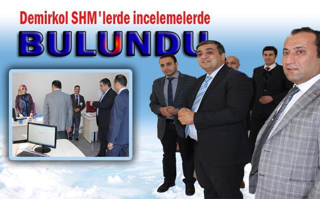 Viranşehir'de yeni açılan SHM'yi ziyaret etti