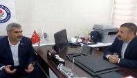 HÜDA PAR Gaziantep İl Başkanlığından Eğitim-Bir-Sen'e ziyaret