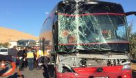 Mardin'de trafik kazası: 1 ağır yaralı