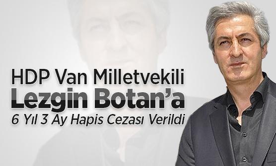 HDP'nin Van Millrtvekiline hapis cezası verildi