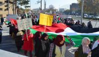 Kayseri'de Filistin'e destek yürüyüşü düzenlendi
