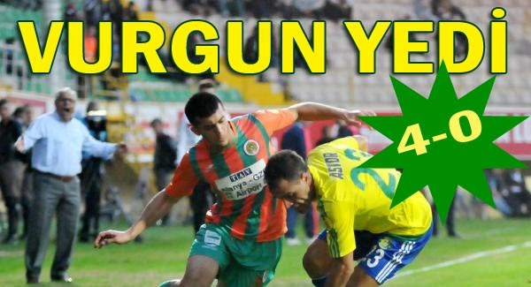 Urfaspor'da Alanya Hezimeti 4-0