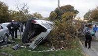 Gaziantep'te kaza: 1'i polis 5 yaralı