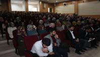 DÜ'de 'İslam Ümmetinin Mazlumiyeti' konferansı düzenlendi