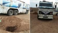 Diyarbakır'da 20 ton ham petrol ele geçirildi