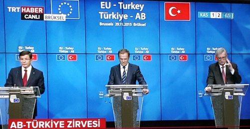 Türkiye AB Zirvesinde Karar: Serbest vize ve mülteciler için 3 milyar euro