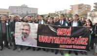 Batman Barosu Elçi'nin öldürülmesini protesto etti