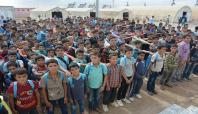 Viranşehir Çadır Kent'te 5 bin 200 Suriyeli çocuk eğitim görüyor