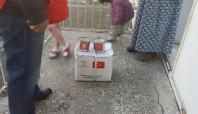 Batman'da 150 aileye gıda yardımı yapıldı