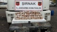 Şırnak'ta 108 kilogram eroin ele geçirildi