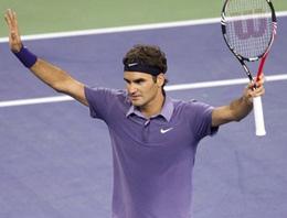 Roger Federer kolay kazandı