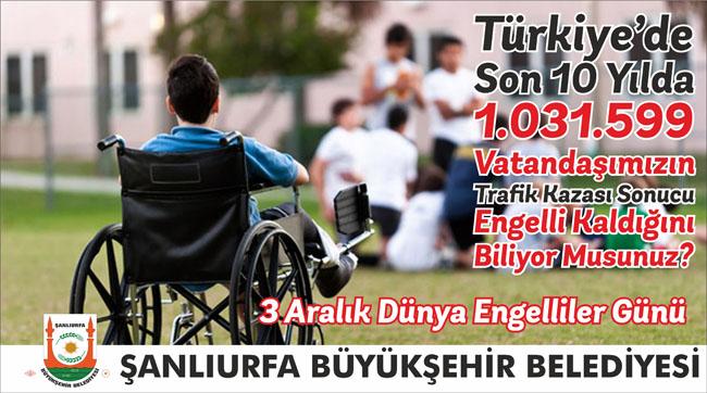 Urfa'da Engelliler günü programı