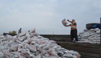 Hilvan'da kömür yardımına başlandı