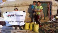 Avrupa Yetim-Der Moğolistan'da kömür dağıttı
