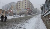 Şırnak'a eğitime kar engeli
