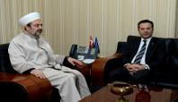Diyanet İşleri Başkanı Görmez, Vali Aksoy'u ziyaret etti