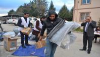 Batman'daki mültecilere yardım yapıldı
