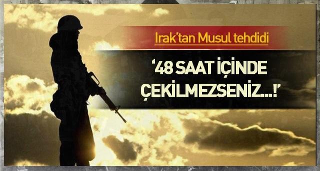 Irak ile Türkiye arasında gerginlik