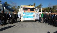 Gaziantep'ten Bayırbucak Türkmenleri'ne 4 kamyon yardım