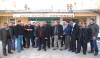 Ağrı'da sağlık çalışanları greve gidiyor