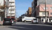 Nusaybin'de bazı ana caddeler trafiğe kapalı