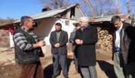 HÜDA PAR Kiğı'da depremin yaşandığı bölgeyi gezdi