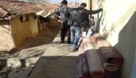 Şefkat Der'den Sur'daki çatışmalardan kaçan aileye yardım