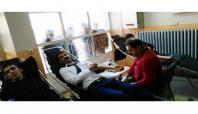 Siirt'e imam hatip öğrencileri kan bağışladı