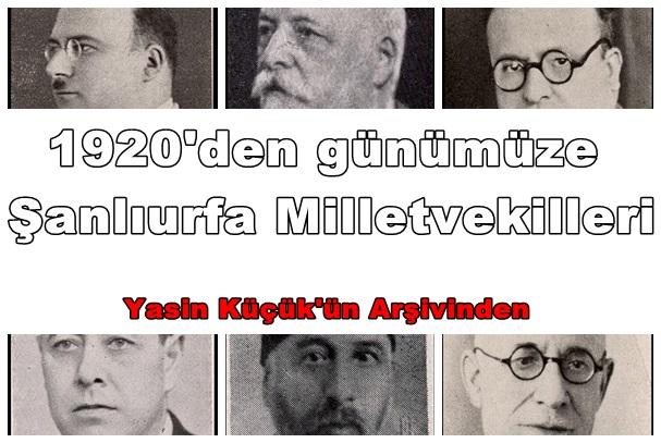 Cumhuriyet Devrinden Günümüze Şanlıurfa Milletvekilleri