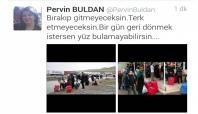 HDP'li Buldan halkı tehdit etti