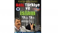 Batman'da 'Batı, Türkiye ve İslam' konferansı yapılacak