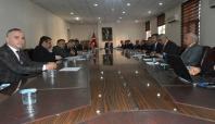 Siirt'te trafik güvenliği toplantısı yapıldı