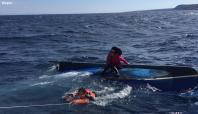 Muğla'da göçmenleri taşıyan tekne battı: 18 ölü