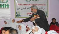 Şanlıurfa'da Suriyeli yetimler sevindirildi