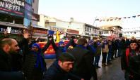 Erzurum kış festivalinde 'Başbar' gösterisi