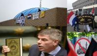 Hollanda'da İslam karşıtları cami işgal etti