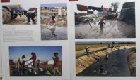 Mevsimlik tarım işçileri için resim sergisi