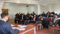 Midyat'ta SYDV Mütevelli Heyeti üye seçimi yapıldı