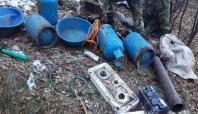Bingöl'de PKK'ya ait 27 sığınak imha edildi