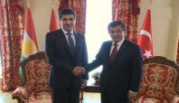 Davutoğlu ile Neçirvan Barzani ile görüştü