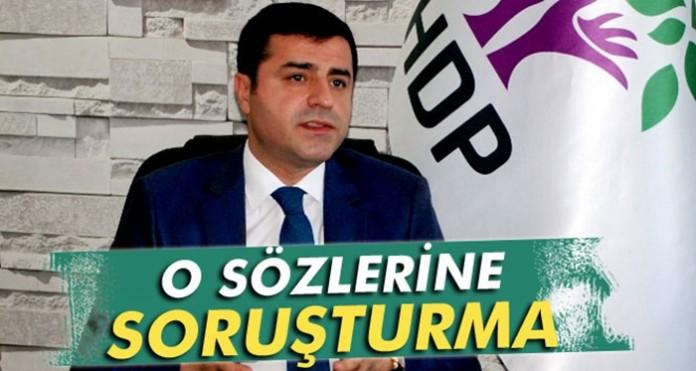 HDP heyetine 'özerklik' soruşturması