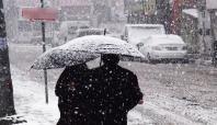 Birçok bölgede kar yağışı bekleniyor