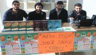 Harran Üniversitesi'nde siyer sınavı standı açıldı