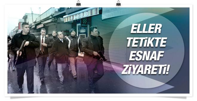 Diyarbakır'da Emniyet Müdürü ziyaretinde gergin anlar!