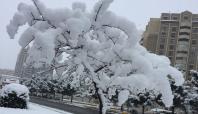 Diyarbakır'da yılın son karı yağdı