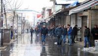 Yasağın kalkmasının ardından Gazi Caddesi