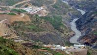 Siirt'te hidroelektrik santralinin çalışmaları durduruldu